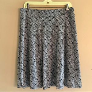 Jhcollectibles Large black & white print skirt